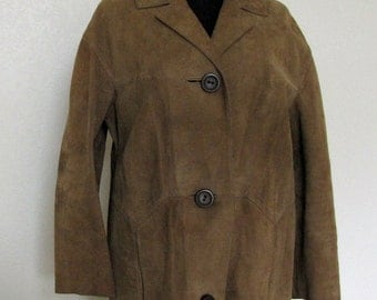 """SALE #Coat """"Leather  """"Full Length """" Womens Fashion """" Retro Vintage """"Brown"""