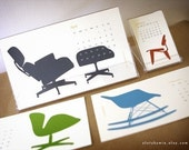 2012 Modern Chair Calendar - shipping on 26th