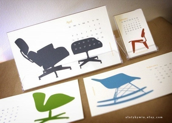 2011 Calendar - the chairs
