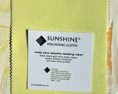 One Sunshine Cloth for Cleaning Jewelry and Metals