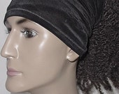 Natural Hair Accessories-Headband-Tube-Locs-Unisex-BASIC BLACK-VirtuousCreations