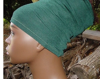 Natural Hair Accessories-Headband-HeadTube-Locs-Forest Green
