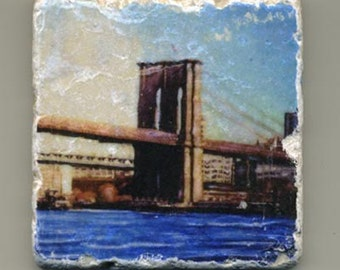 Brooklyn Bridge Original Coaster