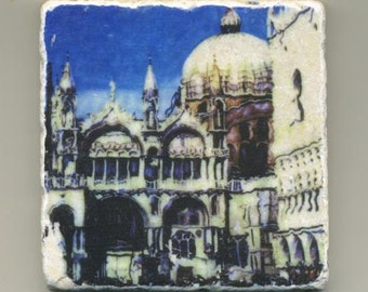 San Marco Cathedral Original Coaster