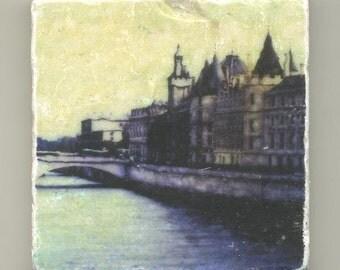 Siene River in Paris Original Coaster