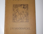 Drawing Text Book Human Anatomy J H Vanderpoel c.1916
