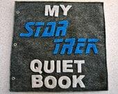 Star Trek Inspired Quiet Book (PATTERN)