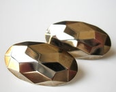 Futuristic Vintage Earrings