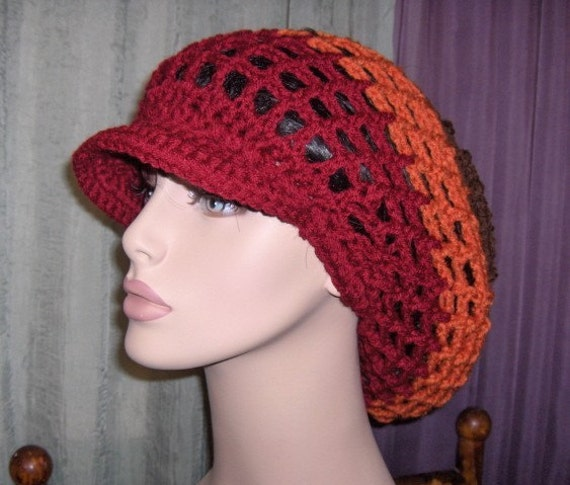 BHB Rasta Dreads Hat for Women Men by BeeHappyBoutique on Etsy Dreadlock Hats For Men