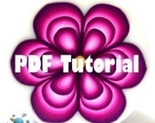 TUTORIAL - How to make a triple petal flower cane - By MARS