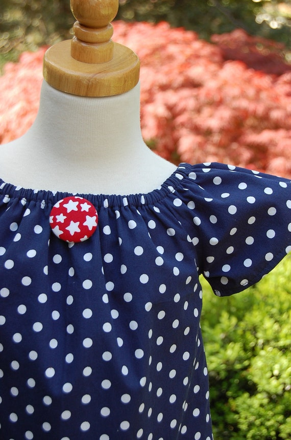 3 Cheers for the Red, White and Blue Dress/Tunic