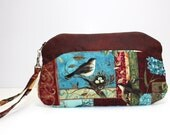 Bird Watching Wristlet