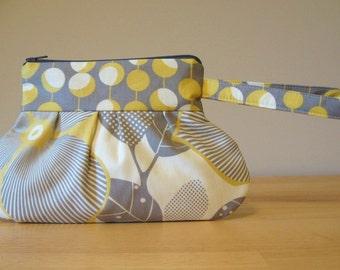 Amy Butler Fabric Wristlet / Clutch