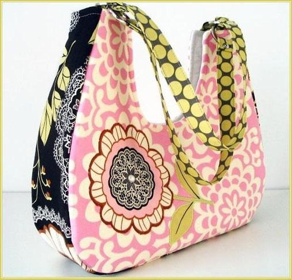 Sweet Pea Lotus Olive Lacework Handbag