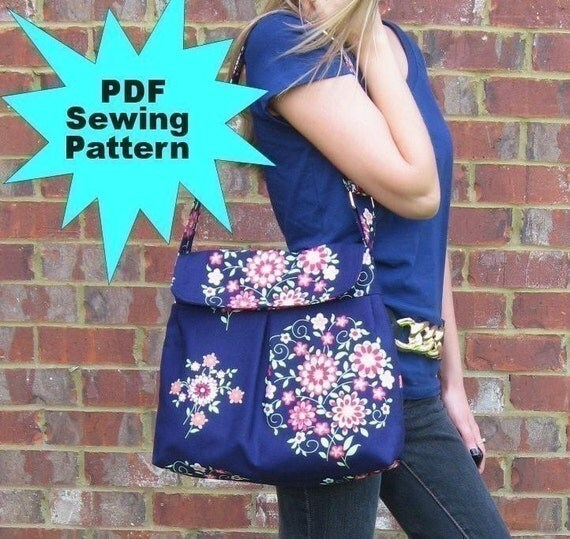 Hobo Bag PDF Sewing Pattern / Sweet Pea Totes