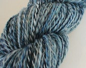 Deepest hand dyed and spun superwash superfine merino sock weight 4 ply yarn 3.8ozs 326yds