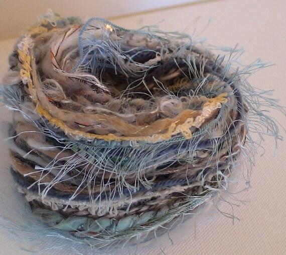 Novelty fiber bundle for crafts 12 x 2yds quality yarns for spinning or embellishment
