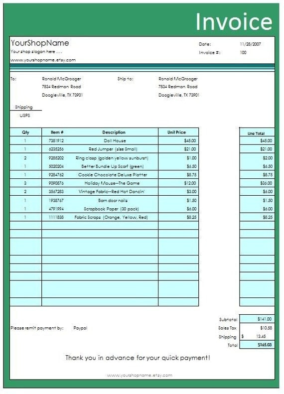 form wizard business forms invoice receipt shipping