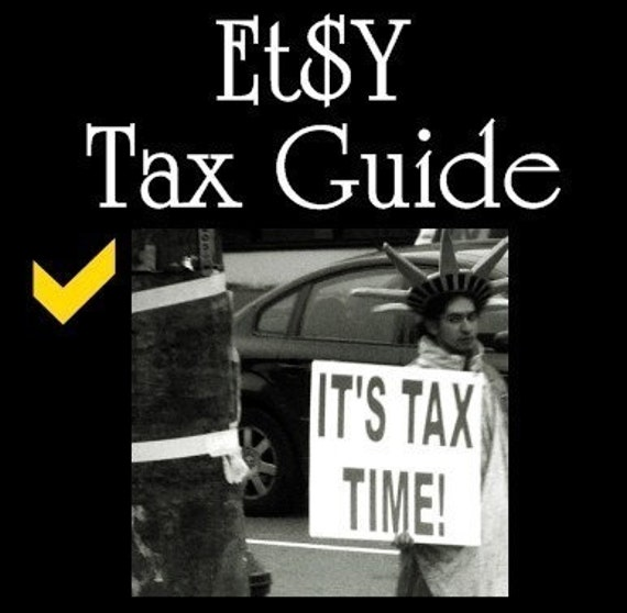 Etsy Tax Guide - Your Etsy Tax Solution EBook - Just for Etsy - Bundle pack and save