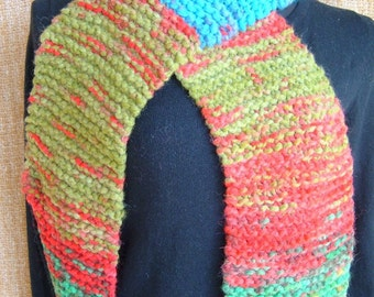 SUPER SALE - Fiesta - 63 inch Long Knitted Scarf - FREE SHIPPING