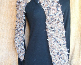 SUPER SALE - Aztec - 66 inch Long Knitted Scarf - FREE SHIPPING