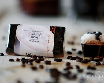 Coffee Exfoliating Soap, Handmade Soap Bar, Coffee Soap, Exfoliating Soap, Men's Gift, Hostess Gift, Coffee Lover Gift, Birthday Gift
