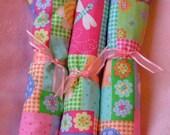 Custom Washcloths\/Fabric Wipes--- You Choose The Fabric