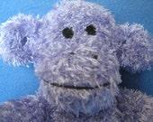 A Purple Sock Monkey
