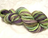Handspun, Hand Dyed Yarn - Single Ply - Spring Fling