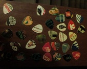 Junk Punk Hand punched Guitar Picks Set of 10 handmade