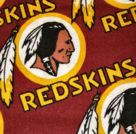 1 5/6 Yards of Washington Redskins cotton Fabric