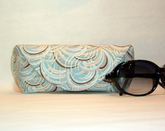 Eyeglass Case or Sunglass Case Large - Whispers Blue