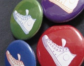 Sneakers Button (1.25 inch)