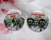 Zombie Defence League (1.25 inch button pack)
