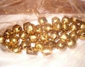 Christmas Destash Small Gold Bells