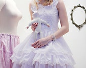 Gloomth Apparition Dress with Corset Details