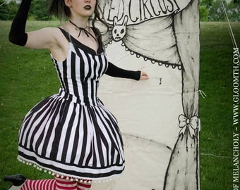 Gloomth's Haunted Circus Spelterini Highwire Dress