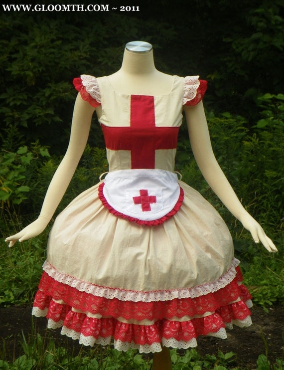 Gloomth Medic Dress with Apron