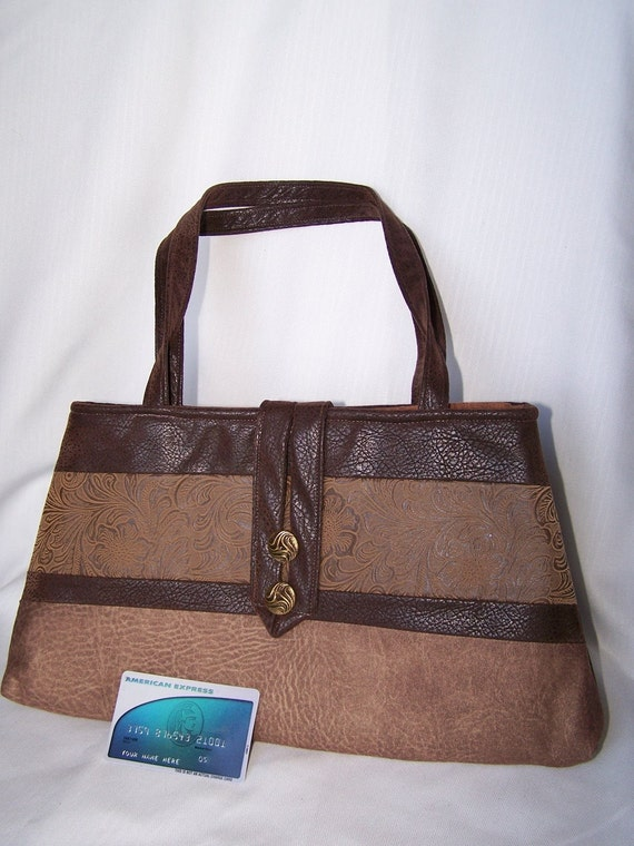 Classic Leather-Look Handbag
