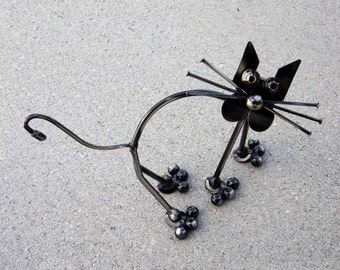 KITTY Metal Sculpture Ornament Paper Weight