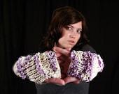 Fairy Dust Fingerless Gloves - Medium Length