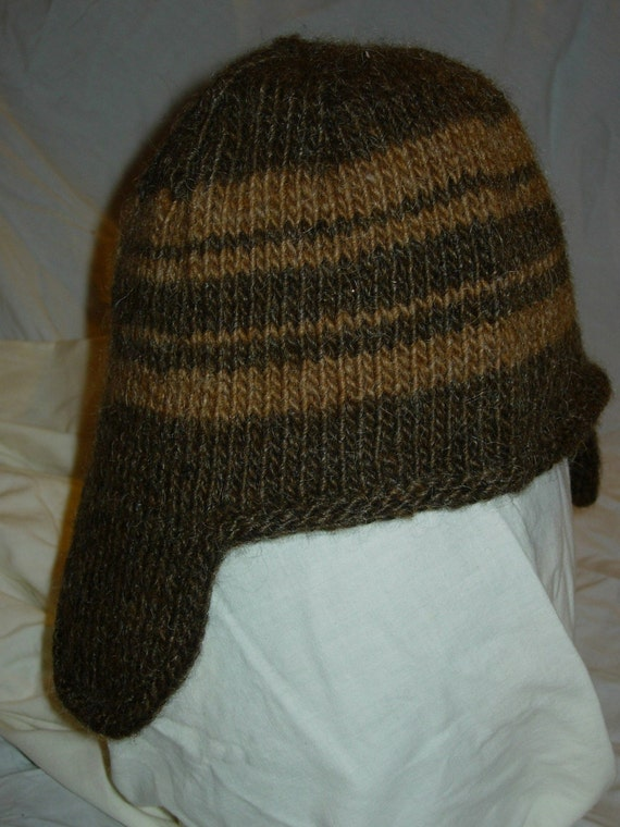 Knitted Hat Patterns With Ear Flaps : Ear Flap Hat Knitting Pattern