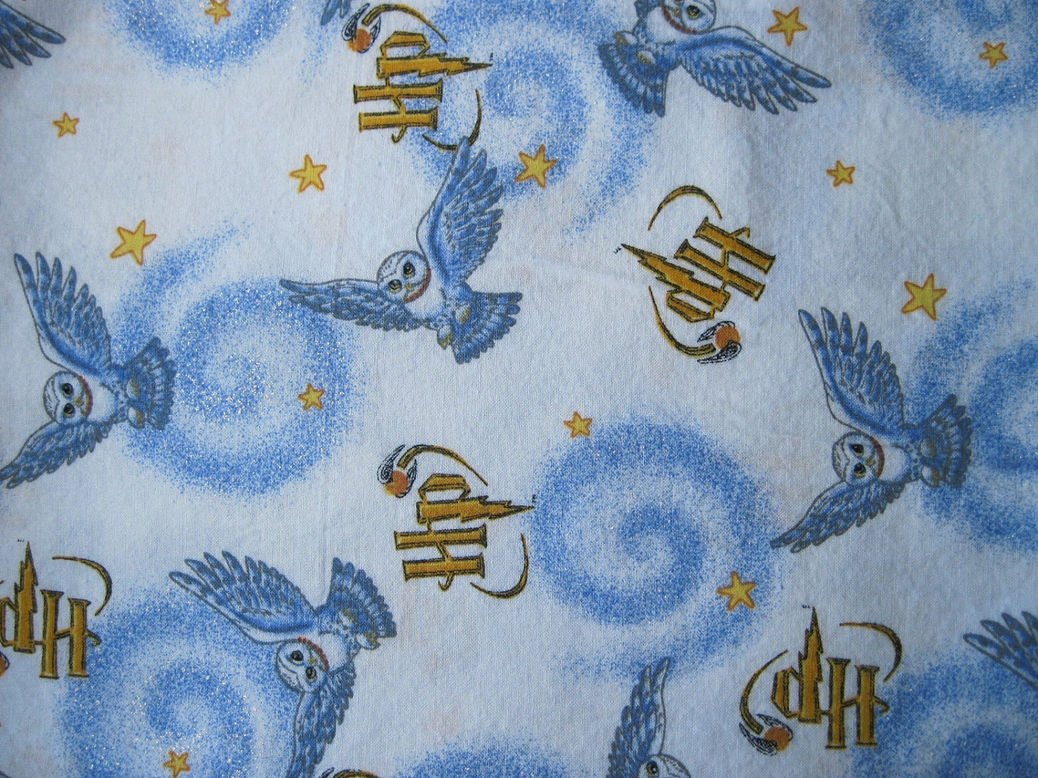 Harry Potter Hedwig Cotton Fabric