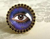 Mystic Eye Ring - Carnivale Mystickal
