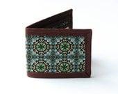 Forest Geometry Billfold Wallet