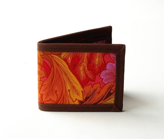Autumn Waves Billfold Wallet