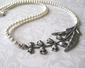 SWEETNESS Lily of the Valley Necklace (Sterling Silver)