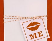 Pucker Up Valentines Gift Tags - Set of 6