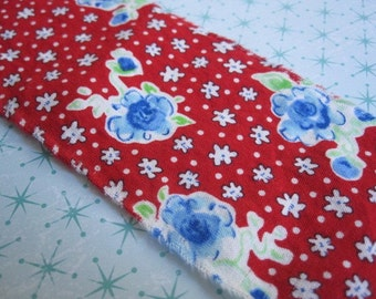 Americana Picnic - Cottage tattered cotton ribbon - 3 yards - floral