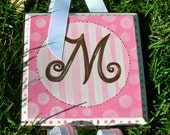 Boutique Personalized Hair Bow Holder Custom Colors